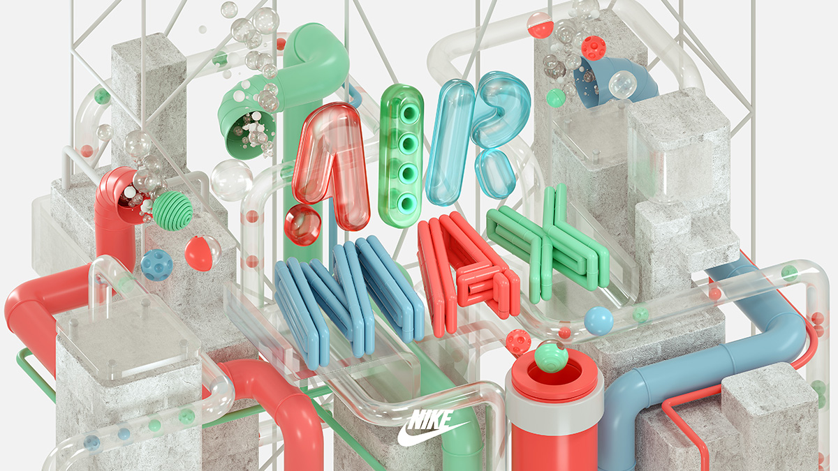 NIKE Air Max Wallpaper by Machineast Singapore design