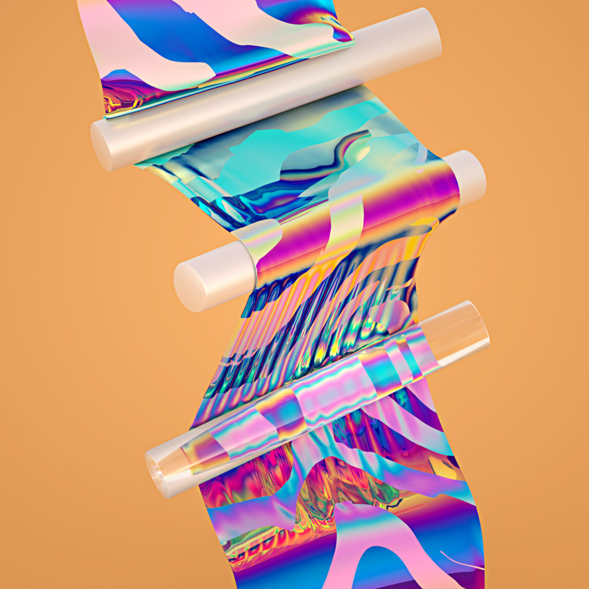 Oh My Pastel - Digital Art project by Machineast Singapore