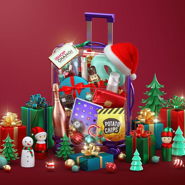 iShop Changi Christmas Key Visual
